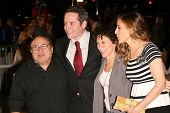 HOLLYWOOD - NOVEMBER 12: Danny DeVito, Matthew Broderick, Rhea Perlman, Sarah Jessica Parker at the world premiere of