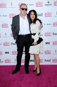 Francois-Henri Pinault, Salma Hayek at the 2013 Film Independent Spirit Awards, Private Location, Santa Monica, CA 02-23-13