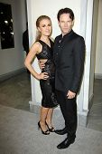 Anna Paquin, Stephen Moyer at Tom Ford Cocktails In Support Of Project Angel Food Media. Tom Ford, Beverly Hills, CA 02-21-13