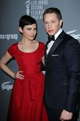Ginnifer Goodwin and Josh Dallas at the 15th Annual Costume Designers Guild Awards, Beverly Hilton,