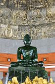 The Green Buddha Made From Jade In Thailand
