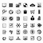 big data management icons