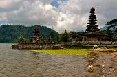 Indonesian Temple in the Lake
