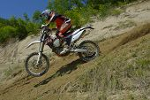 Sibiu, Romania - June 13:  Tomer Shemersh Competing In Red Bull Romaniacs Hard Enduro Rally With A K