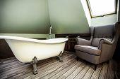 Luxury Bathroom In The Attic