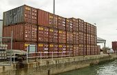 Containers, Southampton Docks