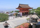 Kiyomizu dera temple Kyoto Japan