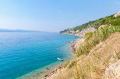 Boat At The Croatian Coast