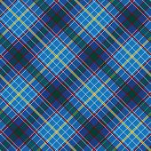Abstract Seamless Pattern with Plaid Fabric on a dark blue background.