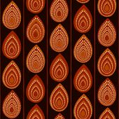 Abstract Traditional African Ornament. Seamless vector pattern.