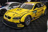 VOLOKOLAMSK, MOSKOW REGION - JULY 13, 2014: DTM (Deutsche Tourenwagen Masters) Moscow Raceway. BMW racing car