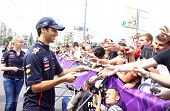 Formula 1 Driver Daniel Ricciardo Of Red Bull Racing Team