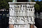 Figures On The Base Of Egypt Obelisk, Istanbul