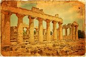pic of libya  - The Temple of Zeus at Cyrene archeology Libya - JPG
