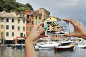 Portofino, Photographing With Mobile Phone