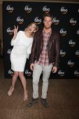 LOS ANGELES - JUL 15:  Analeigh Tipton, Jake McDorman at the ABC July 2014 TCA at Beverly Hilton on