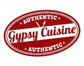 Gypsy Cuisine Stamp