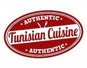 Tunisian Cuisine Stamp