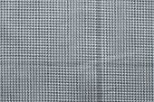 Checkered Fabric Of Silver Color