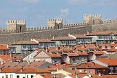 The Old Town Of Avila, Spain