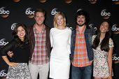 LOS ANGELES - JUL 15:  Chloe Wepper, Jake McDorman, Analeigh Tipton, Nicolas Wright, Jada Catta-Pret