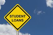 Student Loans Warning Sign