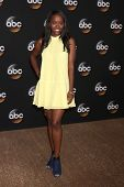 LOS ANGELES - JUL 15:  Aja Naomi King at the ABC July 2014 TCA at Beverly Hilton on July 15, 2014 in