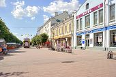 Tver. Pedestrian Zone On ???