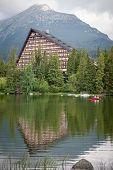 Hotel Patria Near Tarn Strbske Pleso At High Tatras, Slovakia