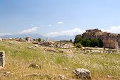 Ancient Castle In Pamukkale
