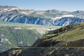 stock photo of beartooth  - scenic view along the Beartooth Highway in Montana - JPG