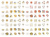 Vector Abstract Icon Design Set