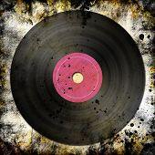 Black Vinyl Record