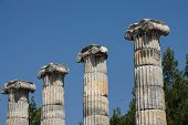 Ionic Columns Temple Of Athena