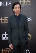 LOS ANGELES - NOV 14:  Simon Helberg arrives to the The Hollywood Film Awards 2014 on November 14, 2014 in Hollywood, CA