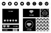 Diamonds Design Elements