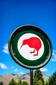 New Zealand. Kiwi sign