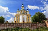 Restored Cathedral Of The Ascension In Northern Russian Town Totma