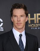 LOS ANGELES - NOV 14:  Benedict Cumberbatch arrives to the The Hollywood Film Awards 2014 on November 14, 2014 in Hollywood, CA