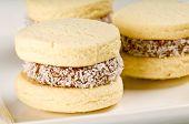 Cornflour Cookies Closeup