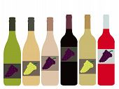 Different Kinds Of Wine Bottles