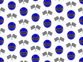 Racing Background Blue Helmets