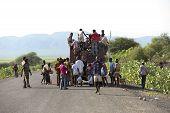 Public Transport In Ethiopia.