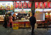 The Making Of Takoyaki In Osaka, Japan