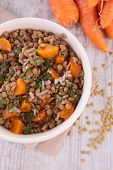 lentils and vegetables