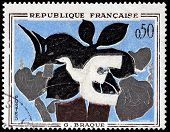 Braque Stamp