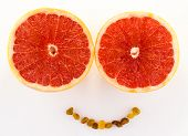 Grapefruit smile