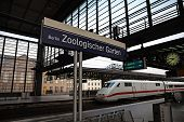 Berlin Zoo railway station.