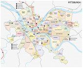 Pittsburgh Neighborhood Map