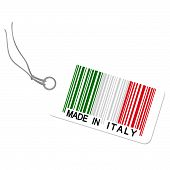 Hangtag With Made In Italy